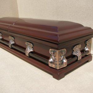 гроб для ритуальных услуг